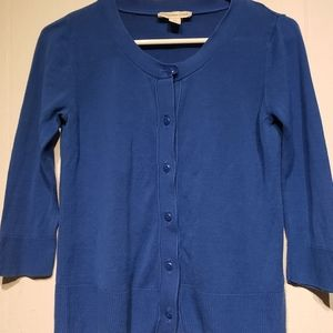 Coldwater creek button up front sweater sizeXS